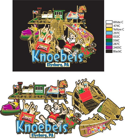 knobels Brass Ornament