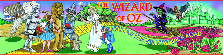 Wizard of OZ from the book